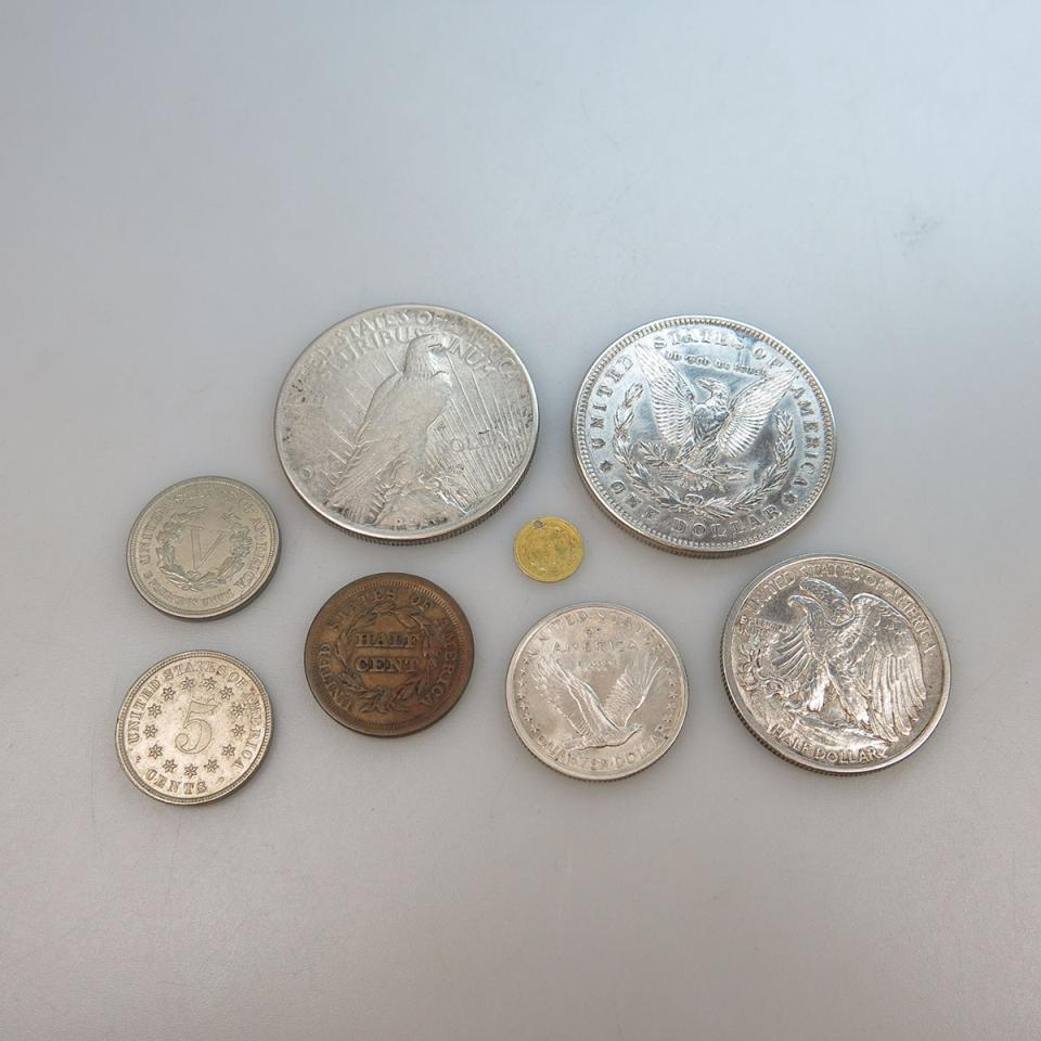 Eight American Coins