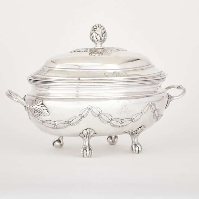 Canadian Silver Covered Soup Tureen