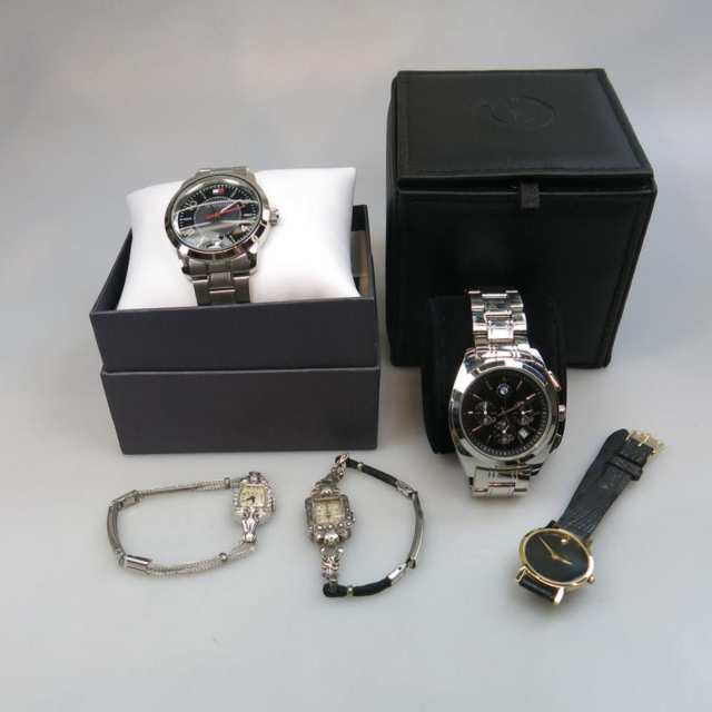 Five Various Wristwatches