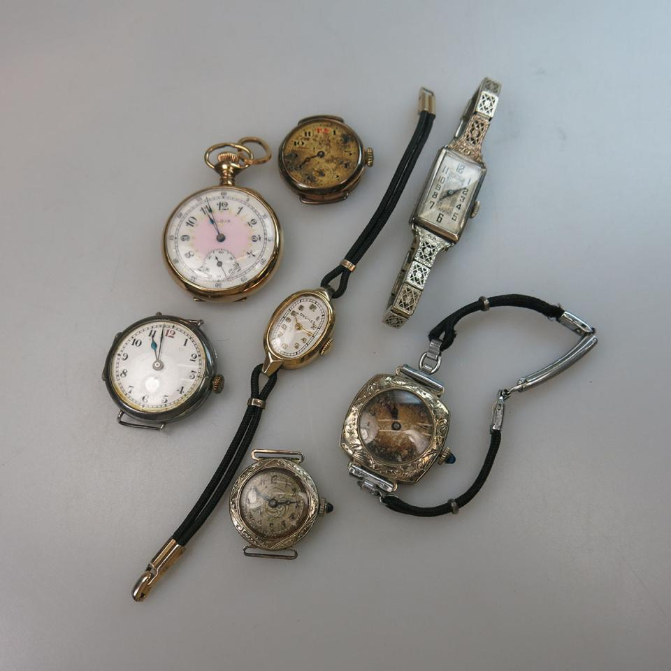 Six Various Lady's Wristwatches