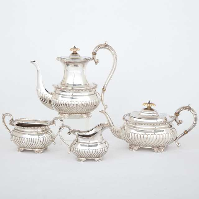 Canadian Silver Coffee and Tea Service, Henry Birks & Sons, Montreal, Que., 1954-56