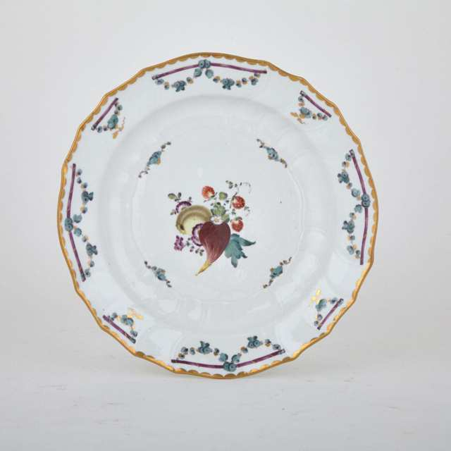 Fürstenburg Plate, late 18th century