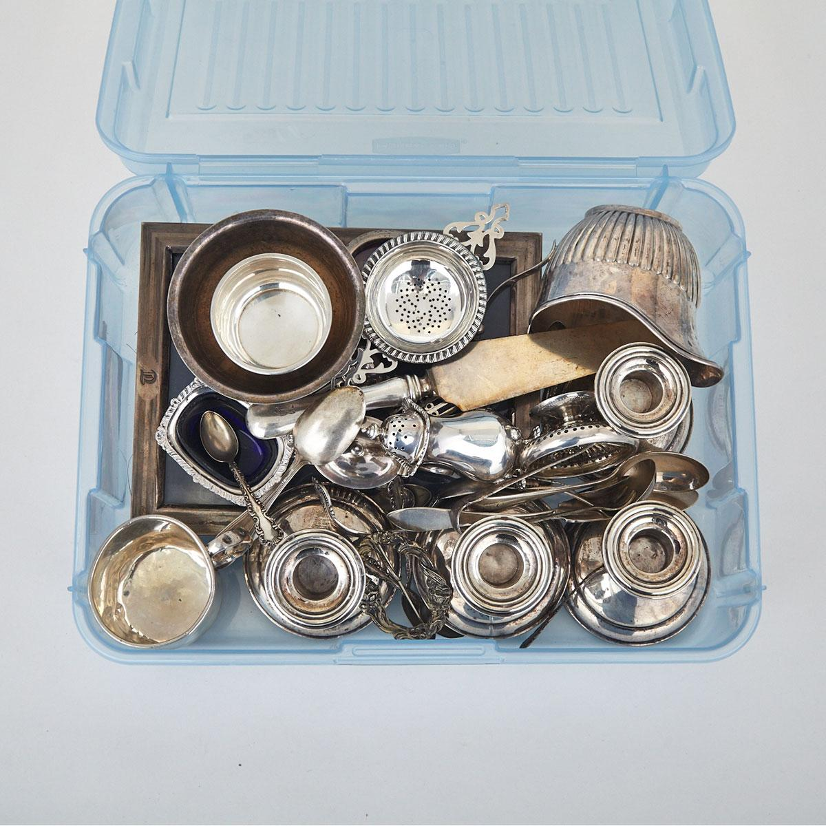 Grouped Lot of North American Silver, 20th century