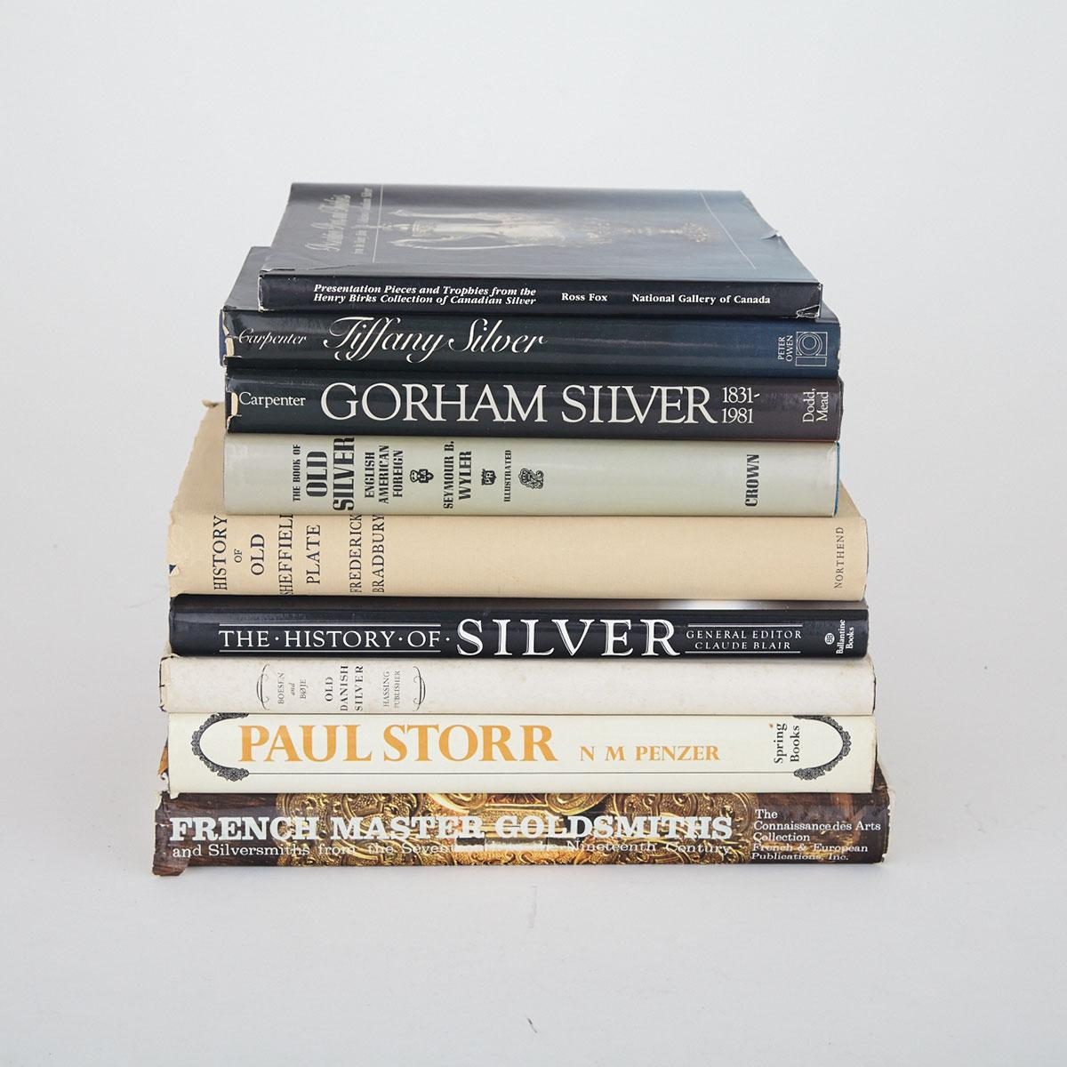 [Reference Books] Silver, Nine Volumes