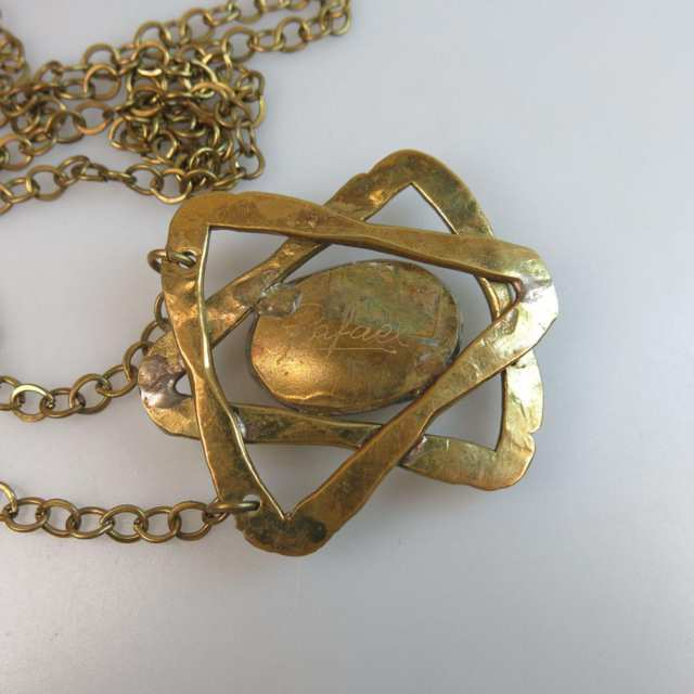Rafael Canadian Brass Chain And Pendant