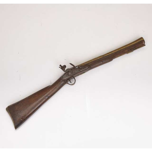English Flintlock Coaching Blunderbuss, 18th century