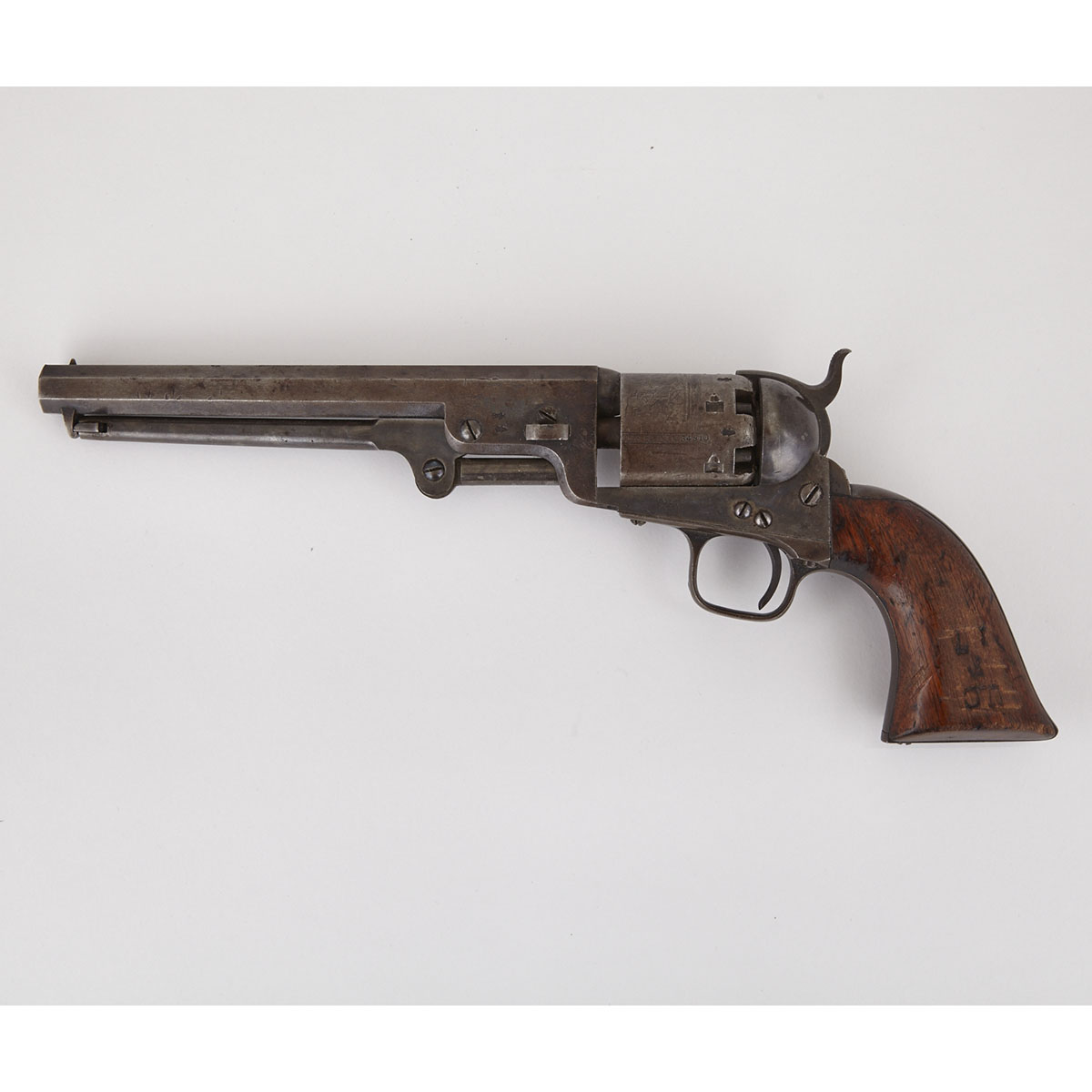 Canadian Militia London Colt Model 1851 Navy Percussion Revolver, 1853