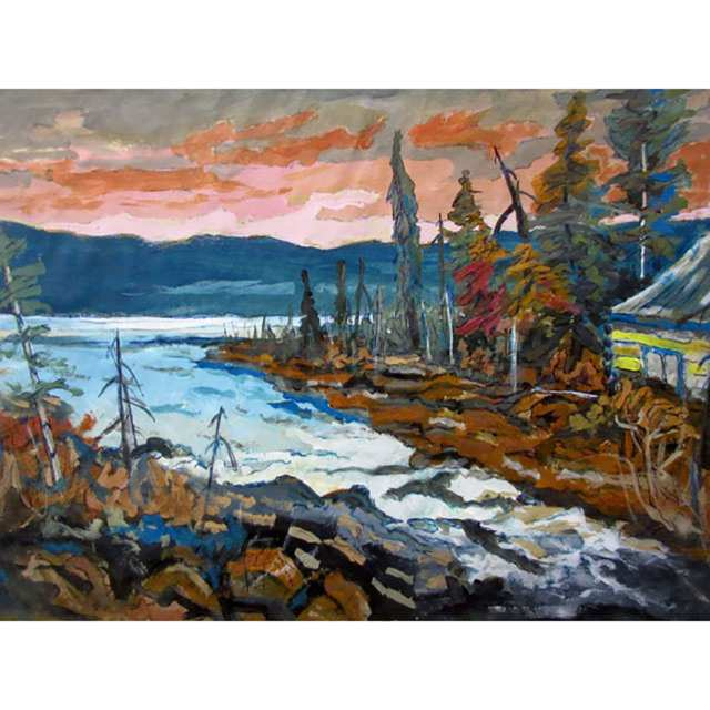 LOUISE S. MUIR (CANADIAN, 20TH CENTURY); UNSIGNED (CANADIAN, 20TH CENTURY)
