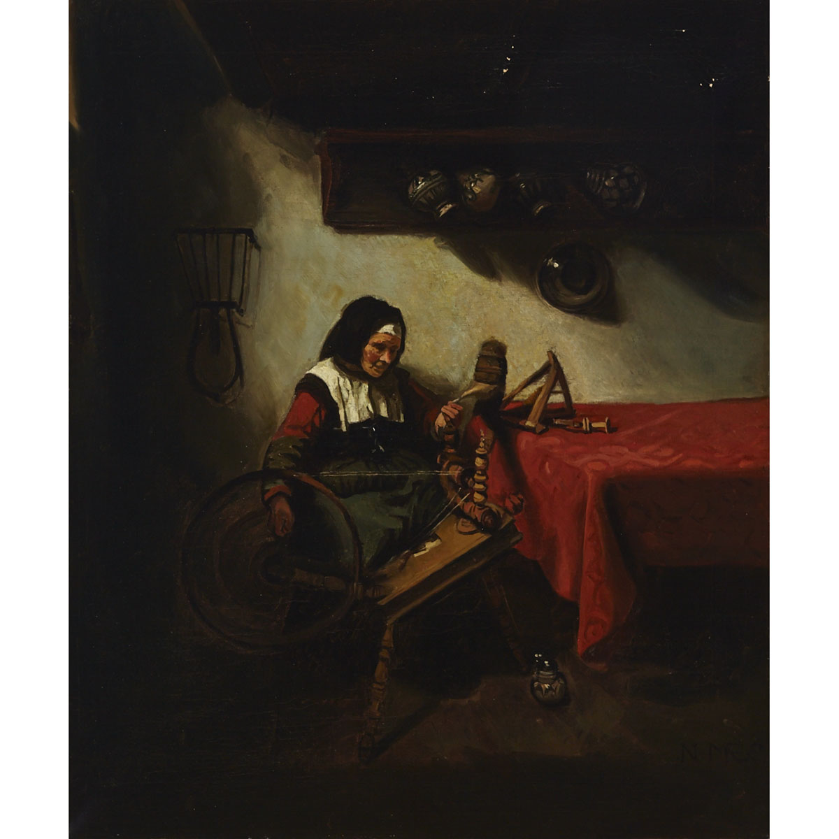 After Nicolaes Maes (1634-1693)