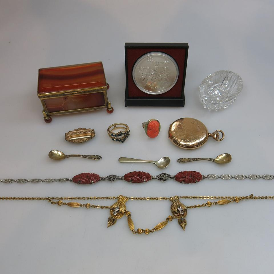 Small Quantity Of Various Jewellery And Accessories