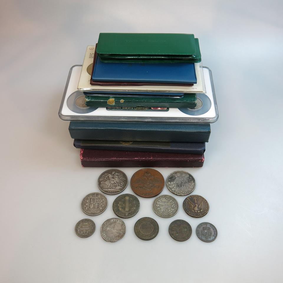 Quantity Of Various Coins And Coin Sets