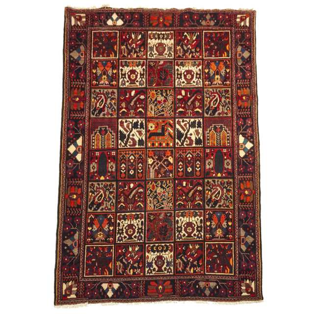 Bakhtiari Carpet, mid 20th century