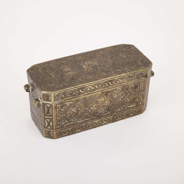 Turkish Incense Box, 17th/18th Century