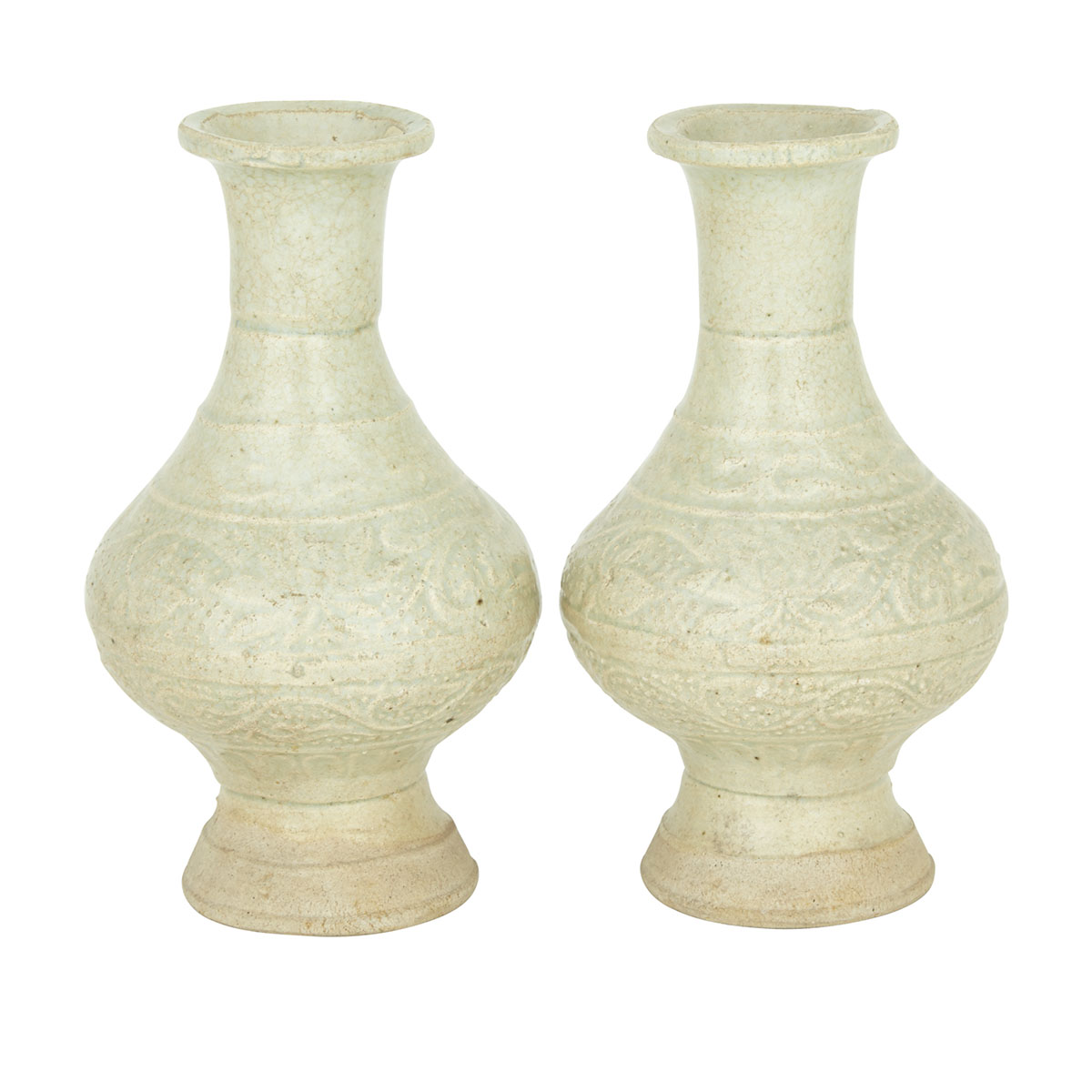 Pair of Yingqing Vases, Song Dynasty (960-1279)