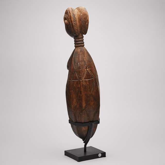 Dan Female Figural Spoon, Ivory Coast/ Liberia, West Africa