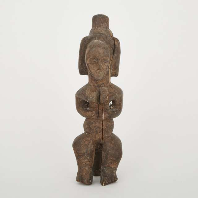 Fang Female Reliquary Figure, Gabon, Central Africa