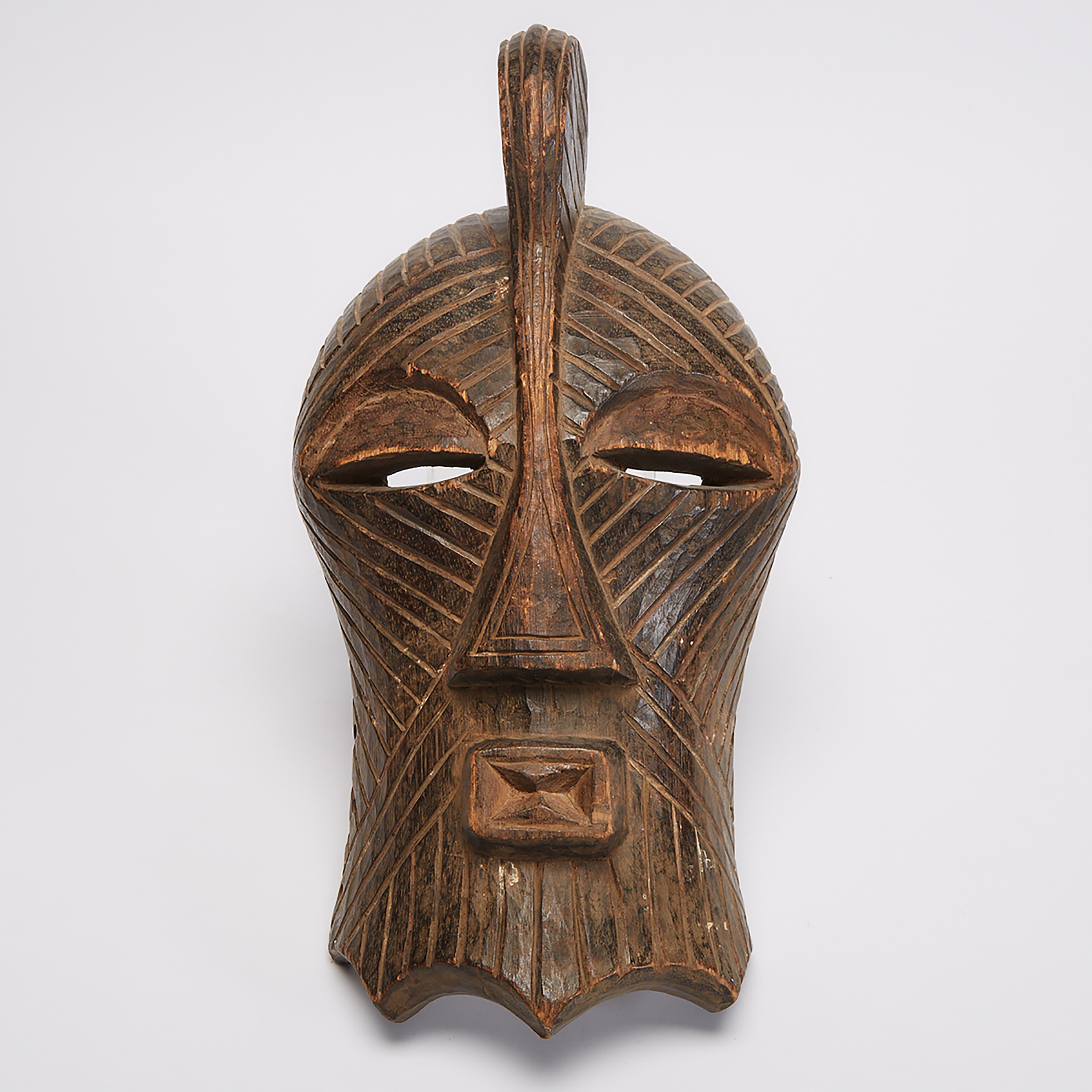 Songye Kifwebe Mask, Democratic Republic of Congo, Central Africa