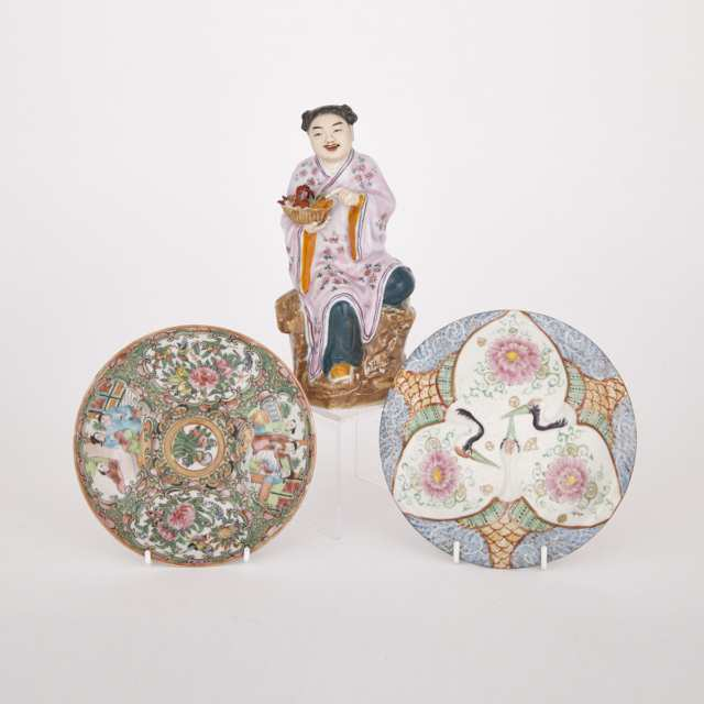 Three Pieces of Porcelain, Early 20th Century