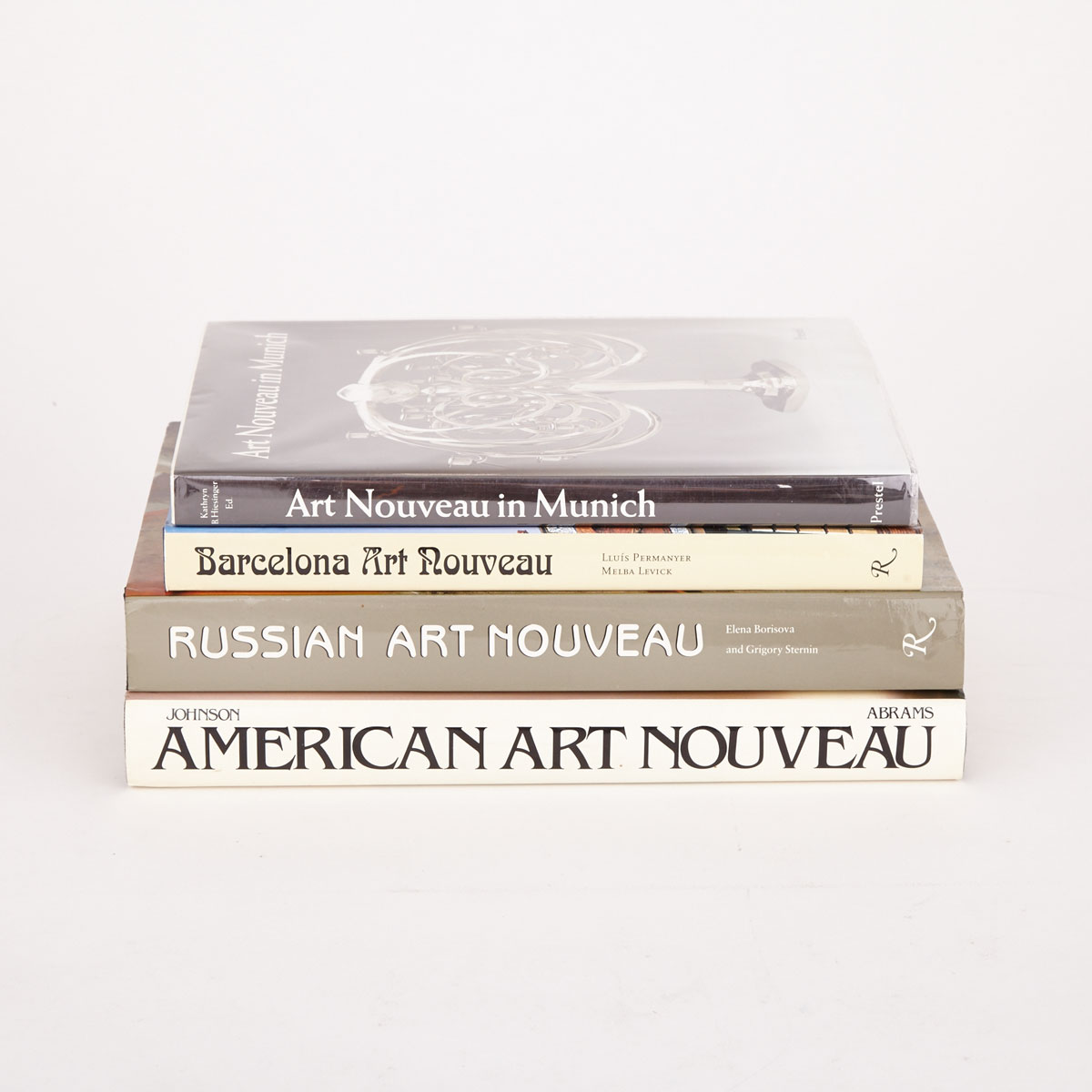 [Reference Books] Art Nouveau (4 Volumes)