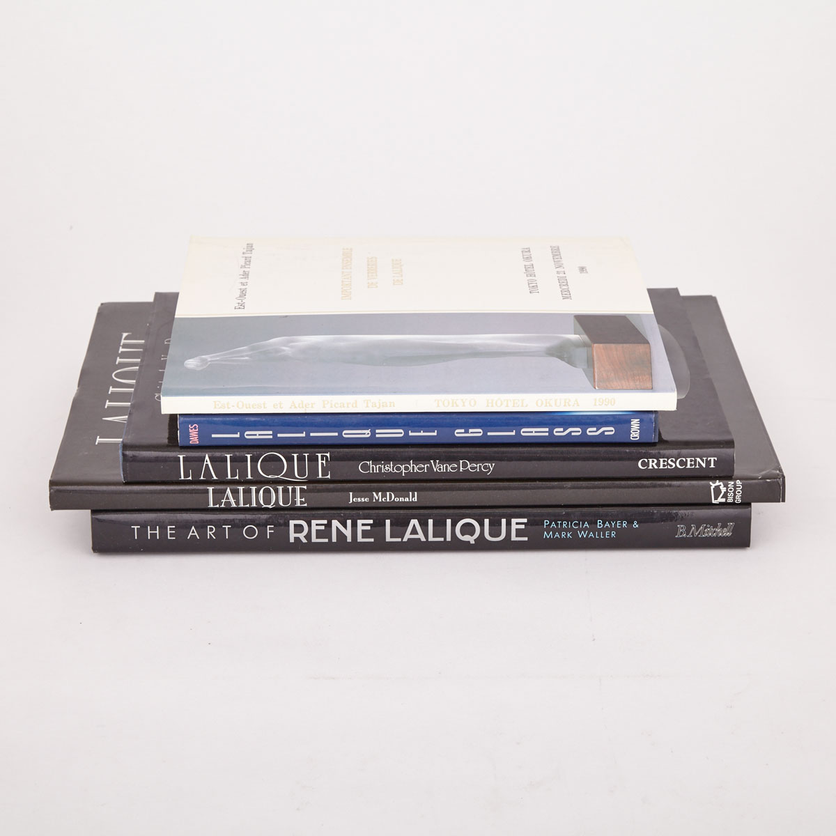 [Reference Books] Lalique (5 Volumes)