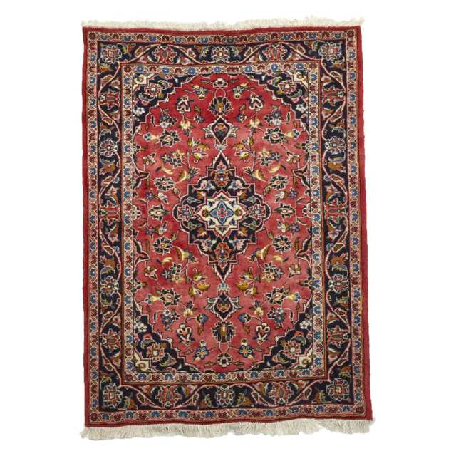 Kashan Rug, mid to late 20th century