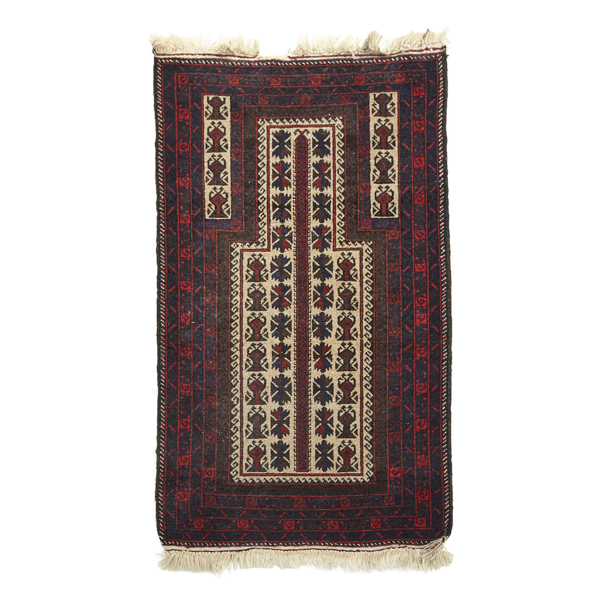 Belouchi Prayer Rug, late 20th century