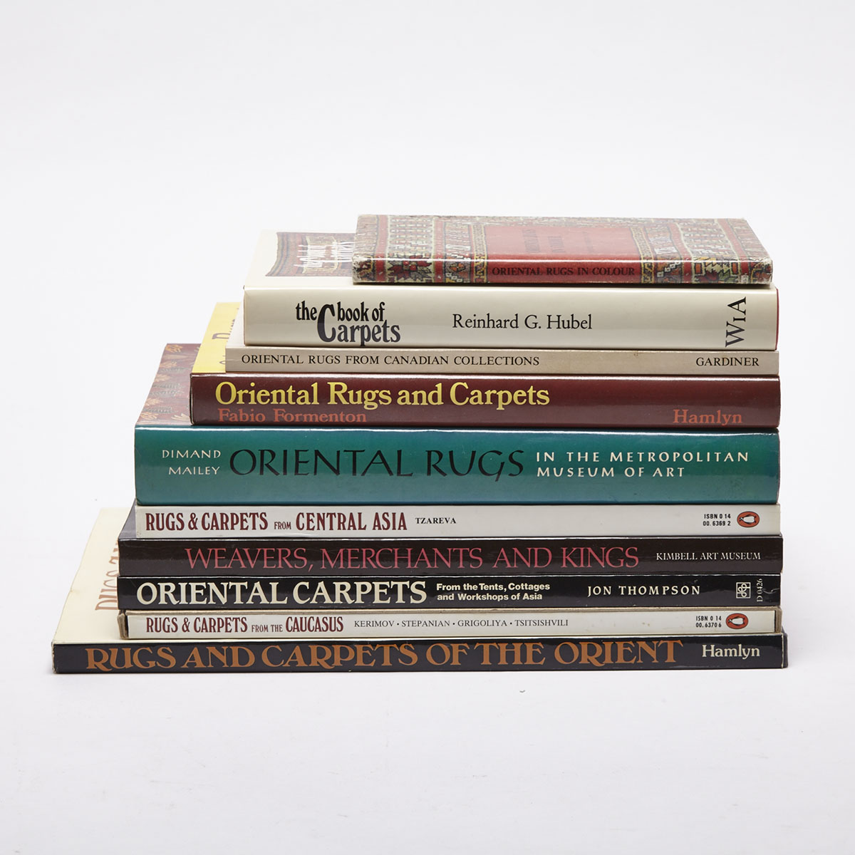 Oriental Carpets (10 volumes)