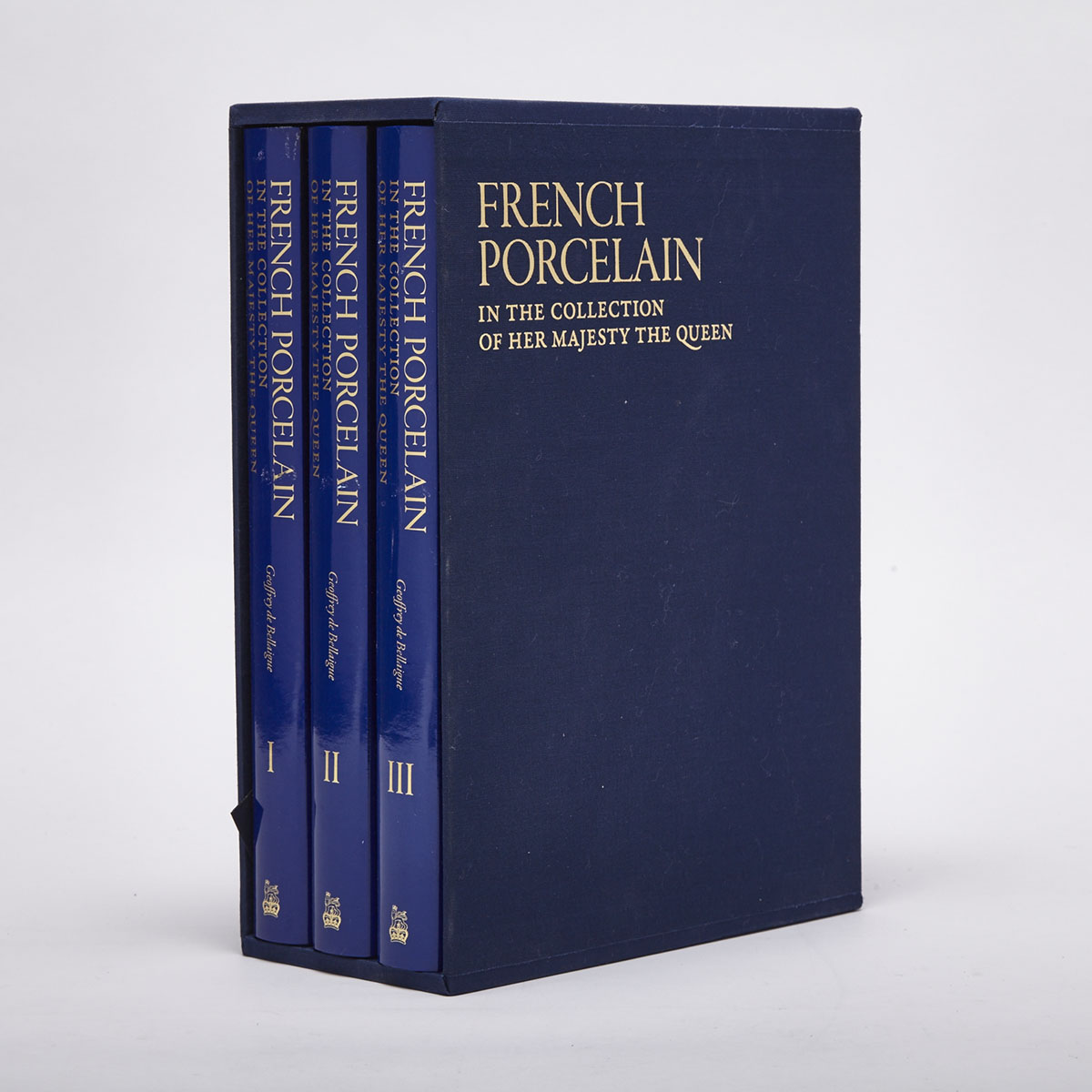 French Porcelain (3 volumes)