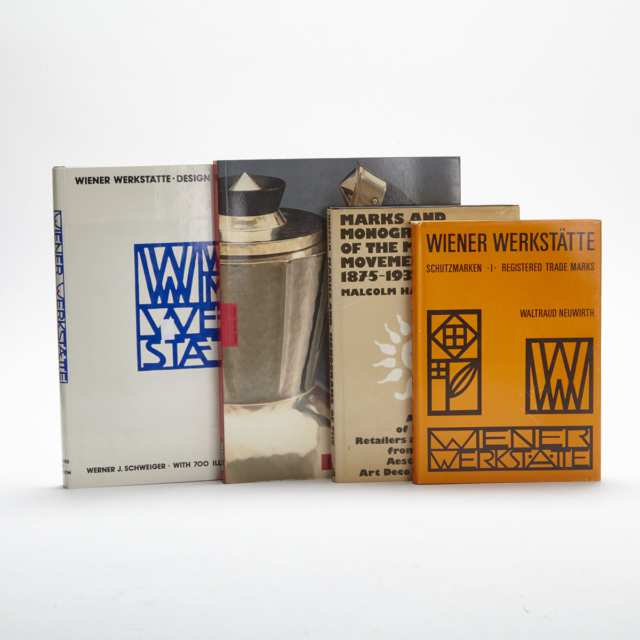 Wiener Werkstätte and The Modern Movement (4 volumes)
