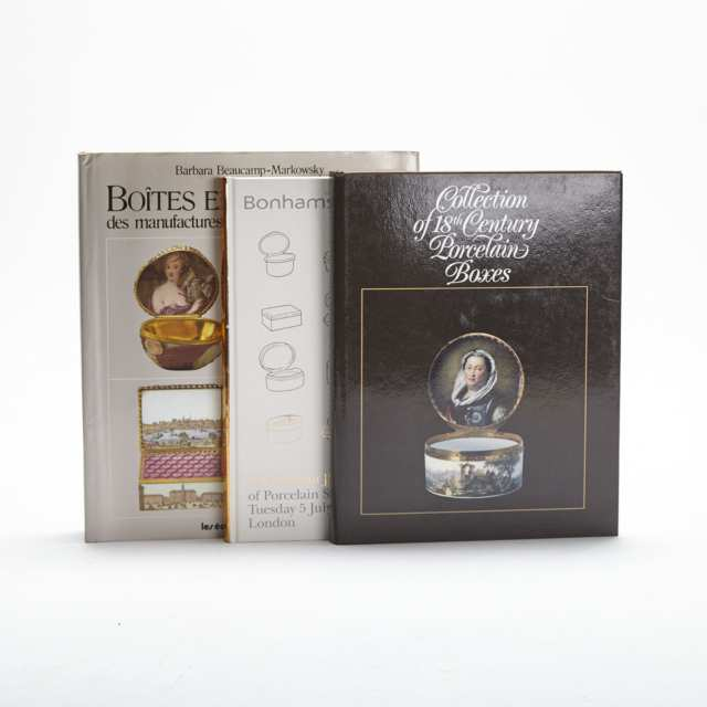 Porcelain Boxes (3 volumes)