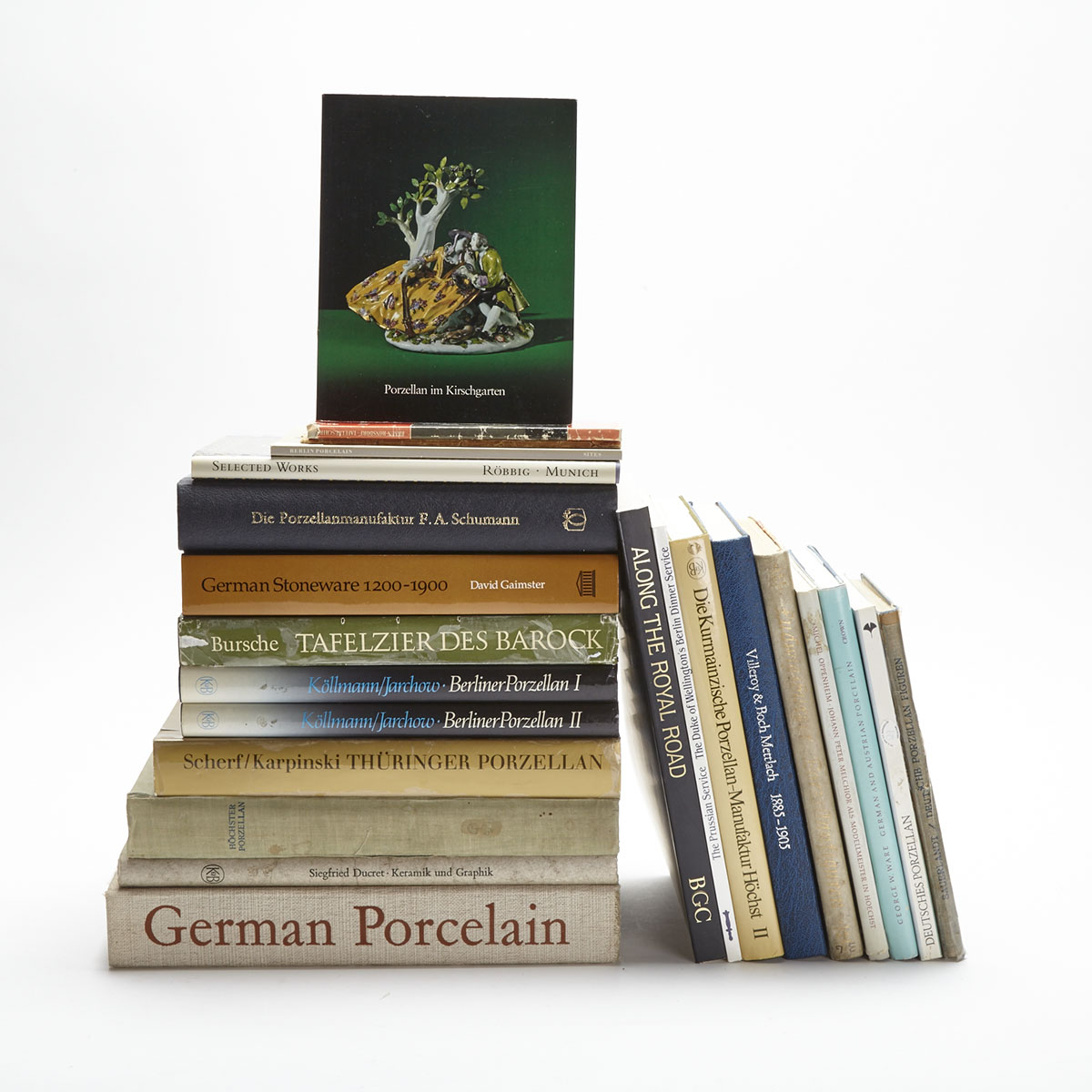 German Pottery and Porcelain (23 volumes)