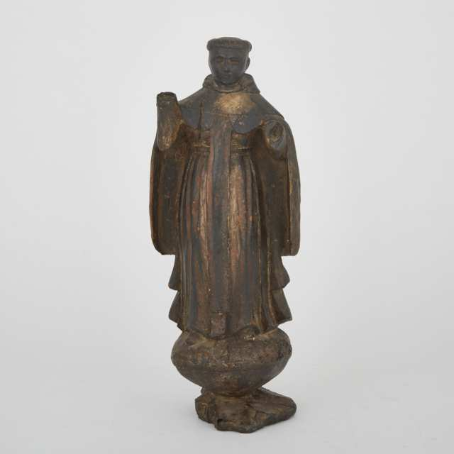 Spanish Colonial Carved Santos Figure, 18th century or earlier