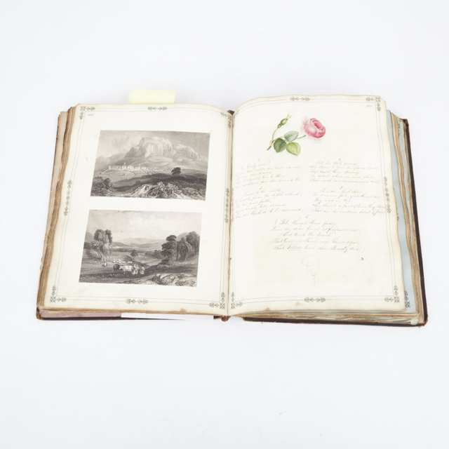 Victorian Lady's 'Manuscript Gleanings and Literary Scrap Book', c.1835