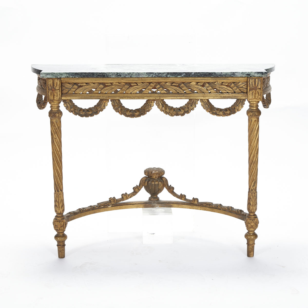 Louis XVI Style Giltwood Console Table, early 20th century