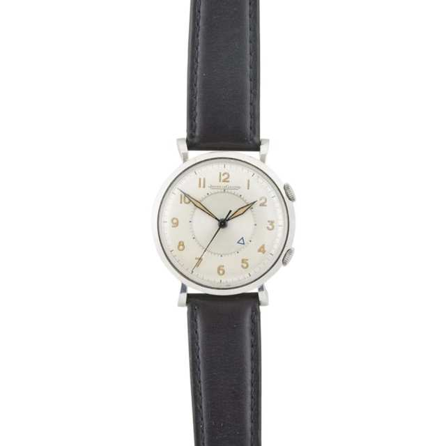 Jaeger LeCoultre Memovox Wristwatch With Alarm