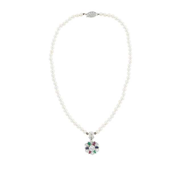 Birks Single Strand Cultured Pearl Necklace