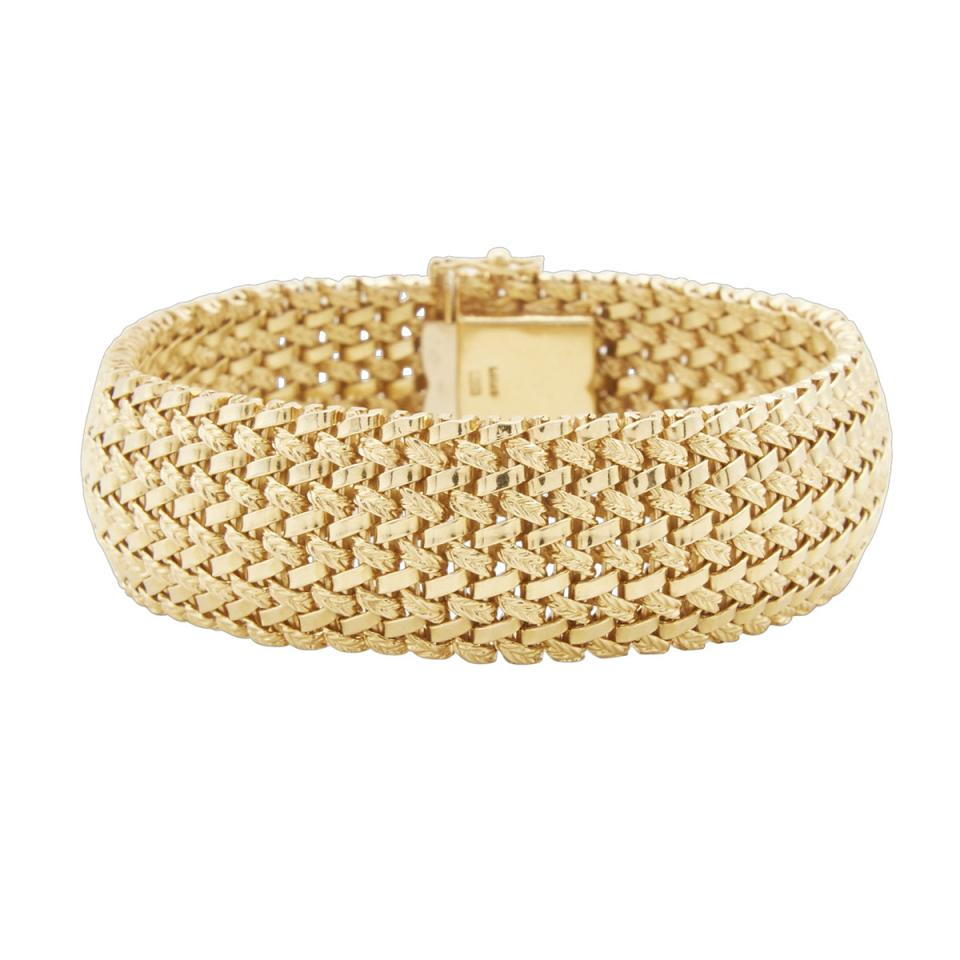 Lucas 18k Yellow Gold Bracelet