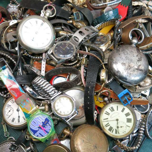 Large Quantity Of Wrist And Pocket Watches