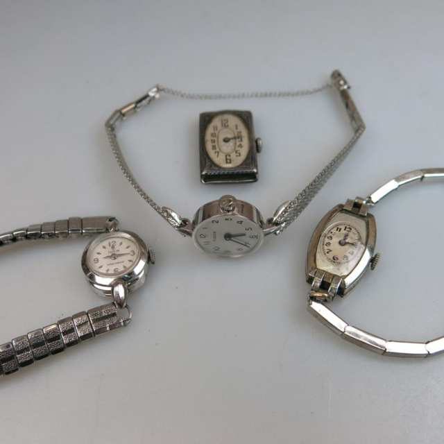 Four Lady's Rolex And Tudor Wristwatches