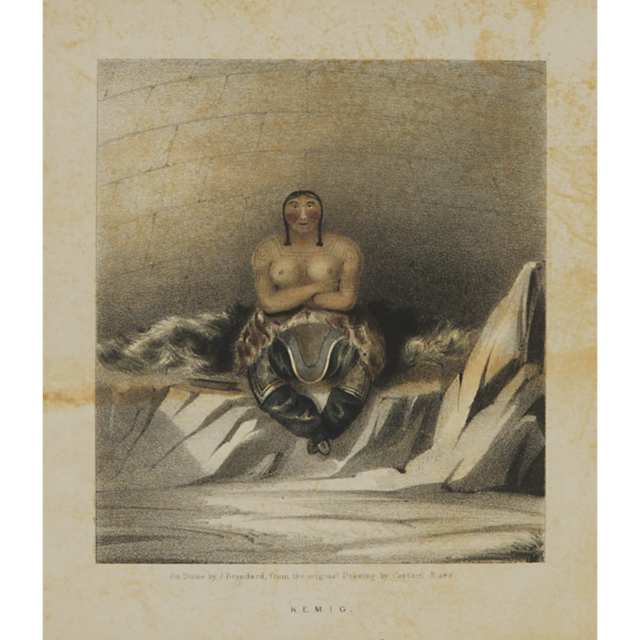 Set of Four Prints from Captain Ross's 'Narrative of a Second Voyage in Search of a North-West Passage', 1835