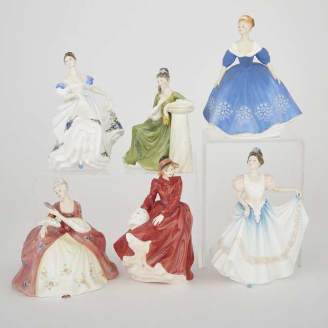 Six Royal Doulton Figures, 20th century