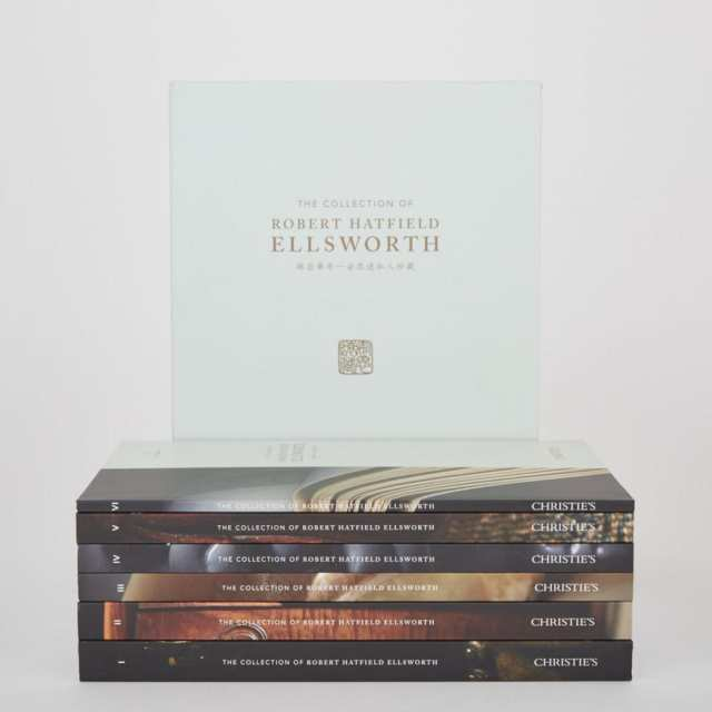 Christie's 'The Collection of Robert Hatfield Ellsworth' - Box Sets and Catalogues I - VI