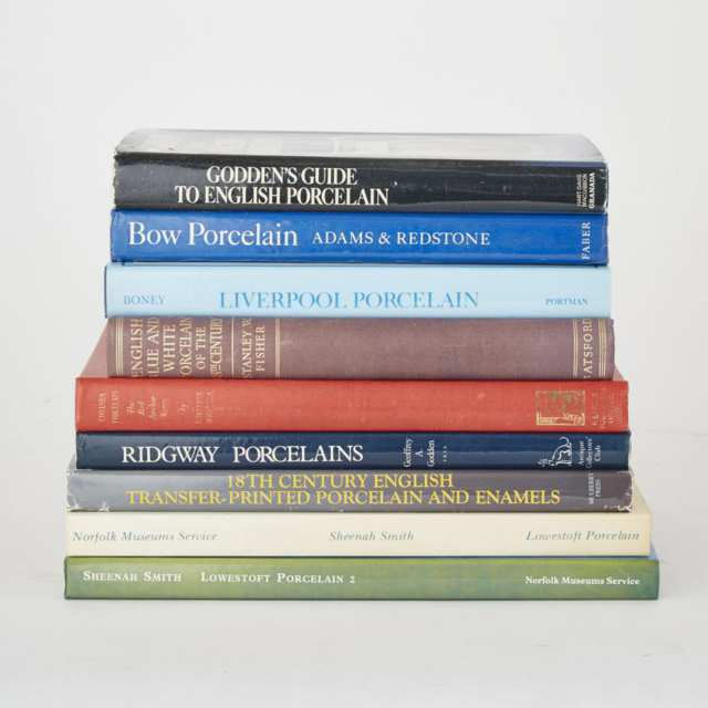 English Porcelain (9 volumes)