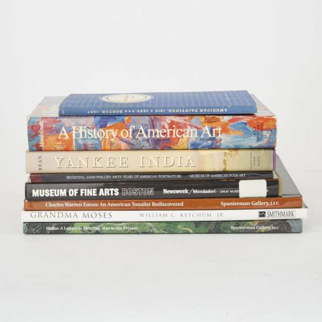 American Art and Folk Art (8 volumes)