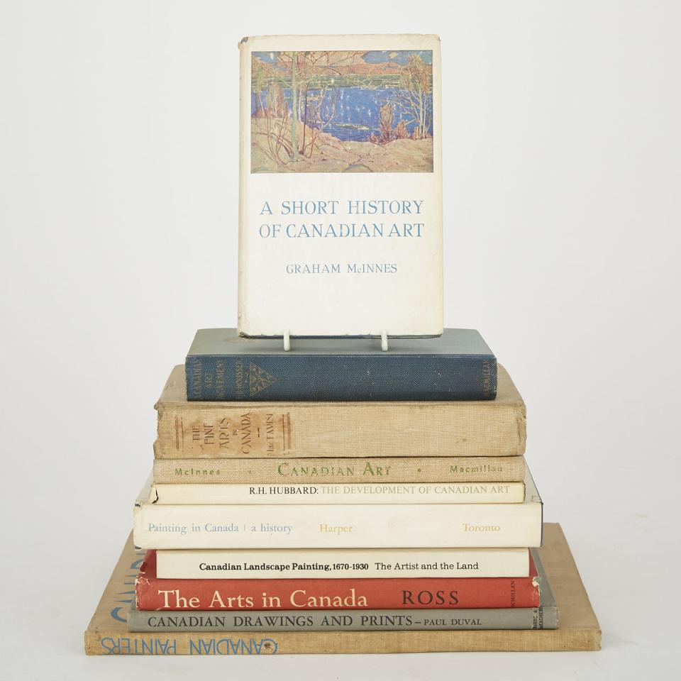 Canadian Art (10 volumes)