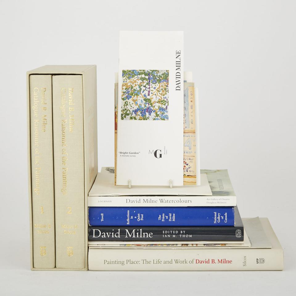 David Milne (14 volumes)