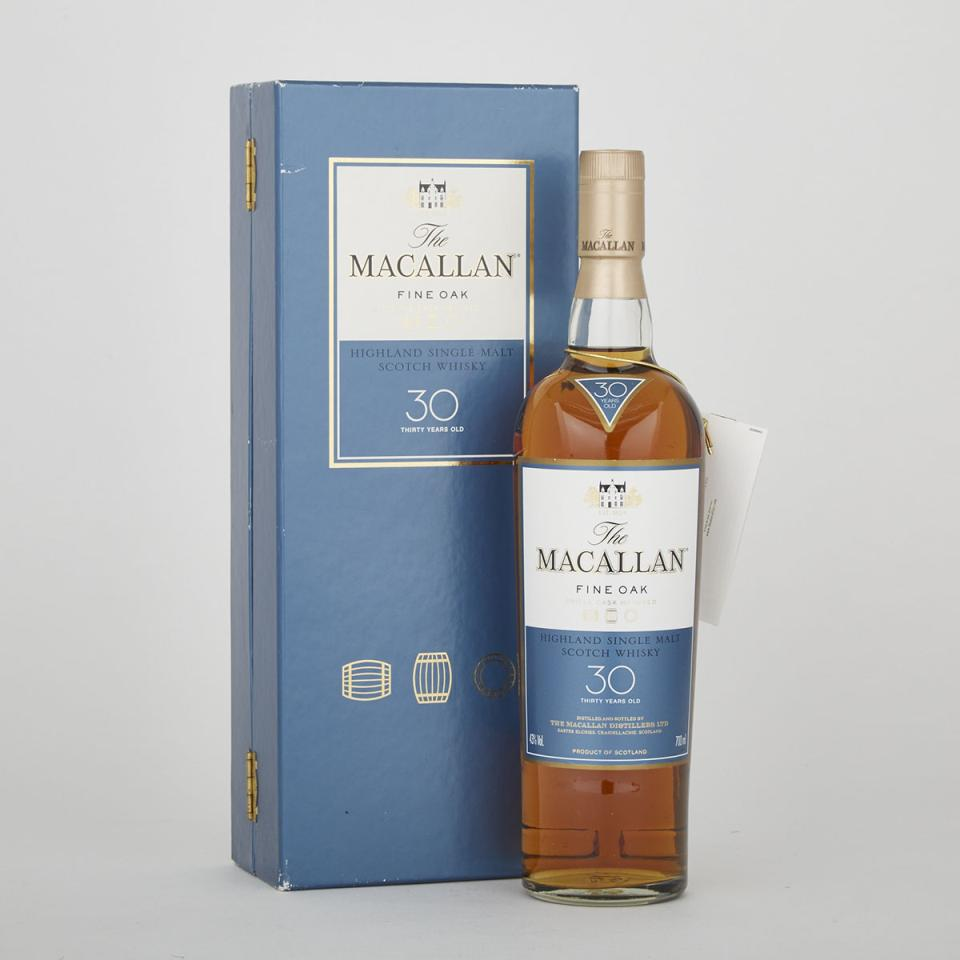 MACALLAN SINGLE MALT SCOTCH WHISKY  (1 700 ML)