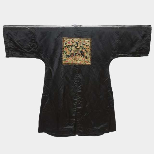 A Silk Surcoat (Pufu) of the First Military Rank, 19th Century