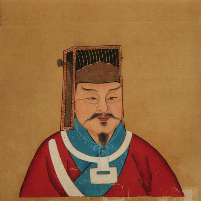 An Album of Twenty-Four Chinese Historical Figures