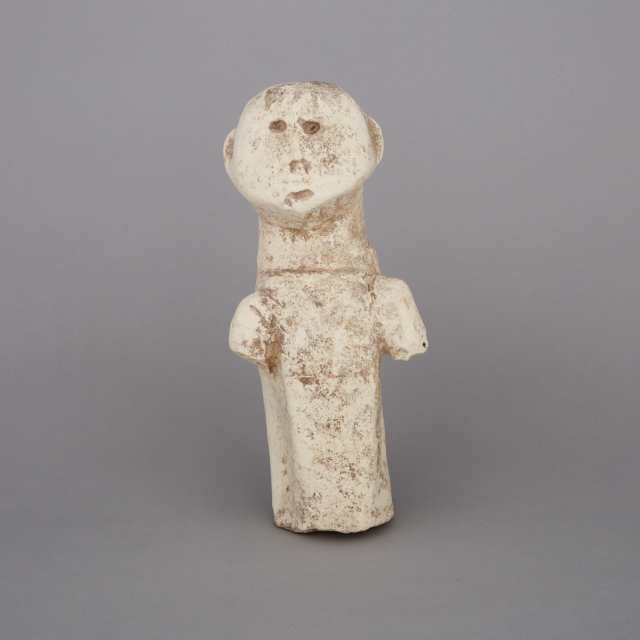 An Archaic Limestone Carved Figure, Philippines